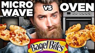 Download Microwaved vs. Oven-Baked Snack Taste Test Video