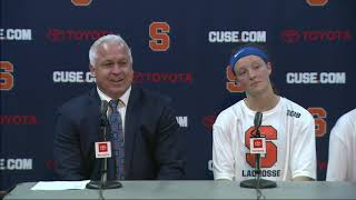 Download Gary Gait & Players vs Cornell Postgame Video