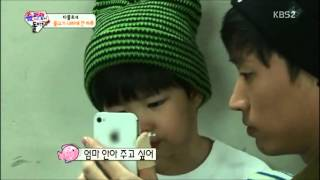 Download [CUT trans] 131110 Tablo and his daughter Haru Video