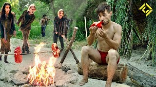 Download Primitive Technology: CRAFTING a Zombie Meat Harvester Video