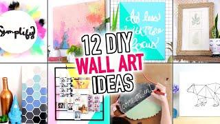 Download 12 EASY Wall Art & Room Decoration Ideas - DIY Compilation Video - HGTV Handmade Video