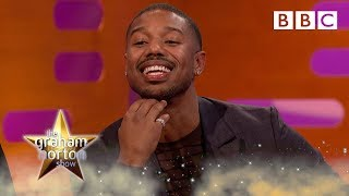 Download Michael B Jordan reacts to YOUR Black Panther tweets - BBC Video
