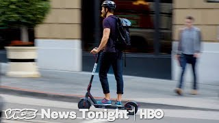Download People In San Francisco Are Pissed Over These Electric Scooters (HBO) Video