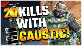 Download Unlocking the 20 KILL BADGE FOR CAUSTIC! (Apex Legends PS4) Video