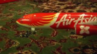 Download Airasia X plane model phoenix unboxing Video