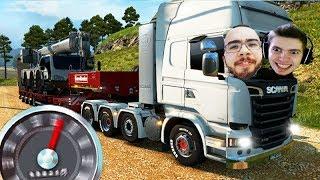 Download VIAGEM em DUPLA PESADA!!! - Euro Truck Simulator 2 MP Video