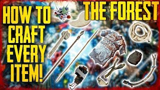 Download HOW TO CRAFT EVERY ITEM IN THE FOREST! PS4 & PC Video