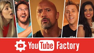 Download The YouTube Factory feat. Dwayne ″The Rock″ Johnson, Lilly Singh, and More! Video