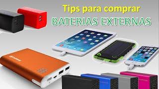 Download Tips para Comprar BATERIAS EXTERNAS Video