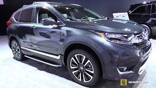 Download 2017 Honda CRV Touring AWD - Exterior and Interior Walkaround - 2017 Detroit Auto Show Video