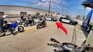 Download COPS TRIED TO BLOCK US IN!! *POLICE CHASE* Video