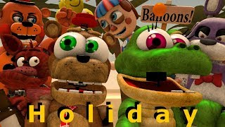 Download [FNAF SFM] Animatronics on a summer holiday Animation Video