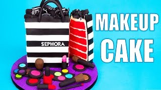 Download How to Make a Sephora Makeup Cake Tutorial Video