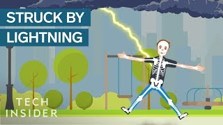 Download What Happens When You're Struck By Lightning? Video