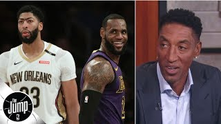 Download Anthony Davis makes the Lakers 'a problem' for the rest of the NBA - Scottie Pippen   The Jump Video