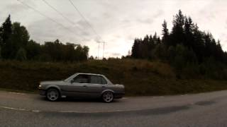 Download BMW 325ix E30 M50 turbo 4wd launch outside view Video