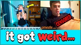 Download A female pianist went on Omegle, then this happened... Video