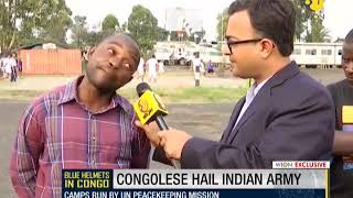 Download Watch: How Indian army changed life of Congolese Video