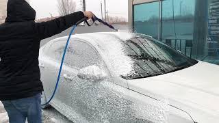 Download Мойка грязной машины Kia Optima GT - пена, воск, осмос. Car wash thick foam Kia Optima GT Video