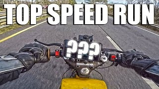 Download Harley Cafe/Bobber Top Speed Run! Video