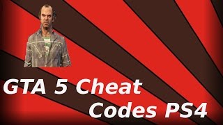 Download GTA 5 Easy Cheat Codes For The PS4 2017 Video