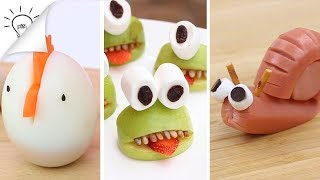 Download 42 Creative Food Art Ideas Video