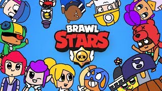 Download A normal day of brawlers (Brawl Stars animation) Video