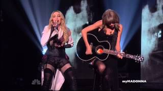 Download HD - Madonna and Taylor Swift Perform Ghosttown Video