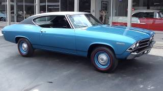 Download 1969 Chevrolet Chevelle Malibu $38,900.00 Video