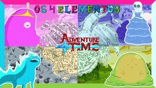 Download Hora de Aventura - OS 4 ELEMENTOS DE OOO (Adventure Time Elements) Video