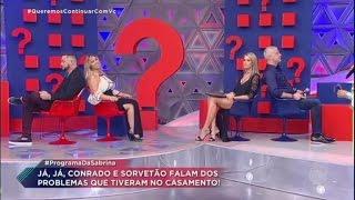 Download Ana Hickmann e Alexandre encaram game de casais com Sorvetão e Conrado Video