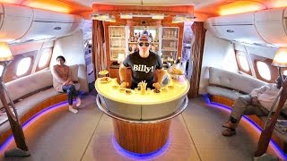 Download INCREDIBLE First Class BAR AND SHOWER!!! Video