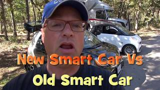 Download New vs Old - Comparison of Smart Car 451 Vs New 453 Model Video