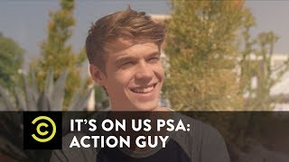 Download It's On Us PSA: Action Guy Video