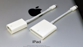 Download Apple iPad Lightning to USB Camera Adapter & SD Card Reader: Demo (Camera Connection Kit) Video