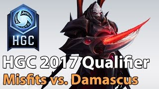 Download ► Heroes of the Storm Pro Play: Misfits vs. Damascus Boys - HGC 2017 Qualifier Video