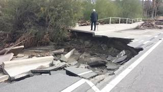 Download Devastation in Palm Springs from Catastrophic Floods Video