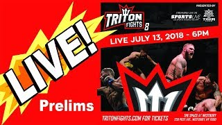 Download 🔴TRITON FIGHTS 8 - LIVE FIGHT REACTION + BELLATOR 202 CHAT! Video