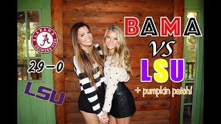 Download weekend in my life: BAMA vs LSU, road trip, & pumpkin patch! | university of alabama Video