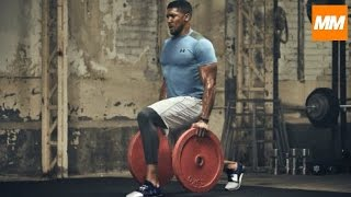 Download FIGHTING FIT - Anthony Joshua Intensive Boxing Strength & Conditioning Training | Muscle Maximum Video