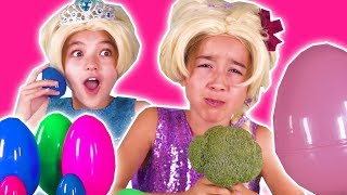Download GIANT SURPRISE EGG DARES CHALLENGE - Gummy Candy, Slime, Pranks + MORE | Princesses In Real Life Video