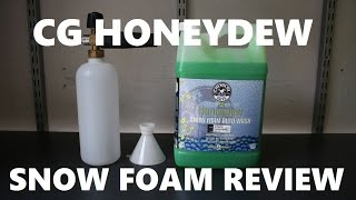 Download Chemical Guys Honeydew Snow Foam Auto Soap Review With MTM Foam Cannon Video