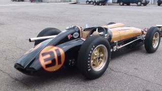 Download Vintage Racing - 1950s Indy Cars startup and race. LOUD!!! Video