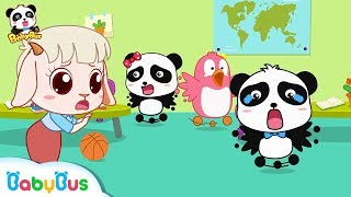 Download Earthquake Happens in Baby Panda's Kindergarten | Kids Safety Tips Collection | BabyBus Video