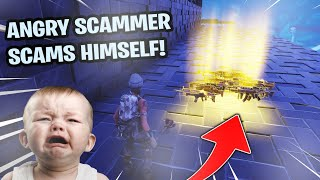 Download Angry Scammer Scams Himself! (Scammer Gets Scammed) Fortnite Save The World Video