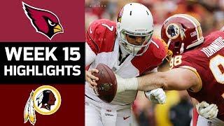 Download Cardinals vs. Redskins   NFL Week 15 Game Highlights Video