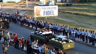 Download Les cendres de Fidel Castro ont été mises en terre à Santagio de Cuba Video
