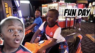 Download TOOK THE KID'S TO THE ARCADE & HAD A FUN DAY!! Video