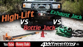 Download Highlift jack vs Bottle jack vs Exhaust jack Video