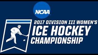 Download NCAA Division III Women's Ice Hockey Championship First Round Adrian vs Elmira Video